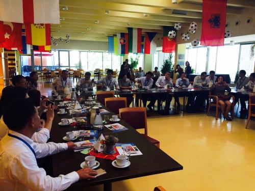 Besuch von China Life und Deutsche Care Property Consulting im Hufeland-Haus Frankfurt
